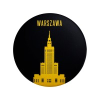Bottle opener with magnet - with the image of the Palace of culture and science