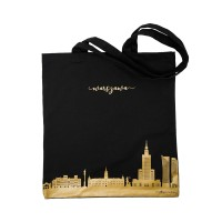 Black bag with a gold pattern - Warsaw sights