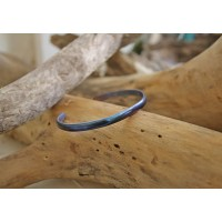 Handmade bracelets made by from tytanium.