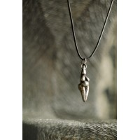 Laconic and fabulous pendant, in the shape of a womans figure