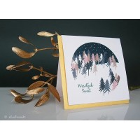 Christmas card Forest
