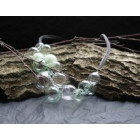 Handmade transparent beads
